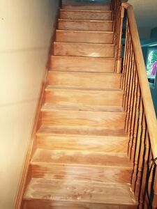 Staircase Refinishing | Stain and Paint Oakville / Halton Region Toronto (GTA) image 4
