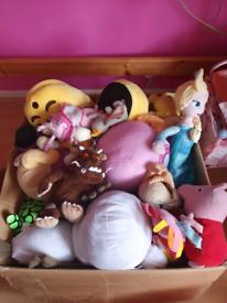 MASSIVE box of soft toys