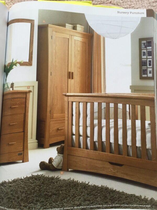Mamas And Papas Ocean Golden Oak Bedroom Furniture