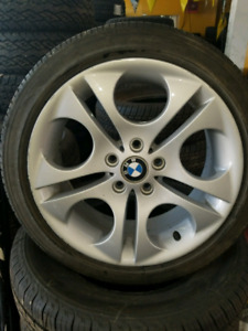 Mag stagged OEM bmw 18x8 18x8.5