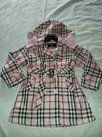 Girls Burberry Trench Coat Size 6 years