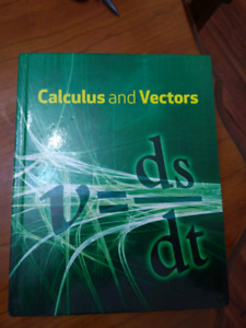 Nelson Calculus & Vectors textbook