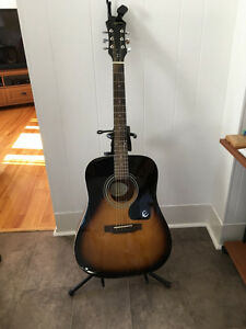 Epiphone Acoustic Guitar  GREAT DEAL!!!!!