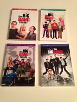 Big Bang Theory Seasons 1-4