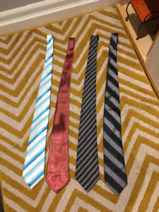 VARIOUS BRANDED NAMES MEN'S TIES FOR SALE (PRIME CONDITION)!