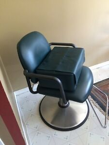 Hair dressing chair with booster seat  Cambridge Kitchener Area image 1