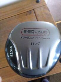 B Square 420cc 11.5 Degree Golf Driver R/H