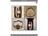 BRANDNEW: Sekonda Matching Crystalla Watch and Bracelet Set