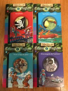 Les Carnets Cabane Magique FRENCH books series