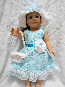 Knit and Crocheted Doll Clothes - Unique One-of-a-Kind