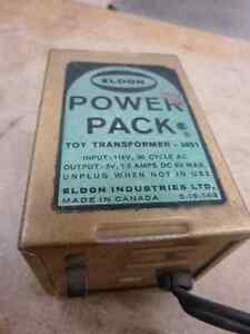 Vintage Eldon slot car Power Transformer