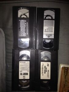 140 VHS Movies, film of year, action ask 1.00 or BO takes all London Ontario image 6
