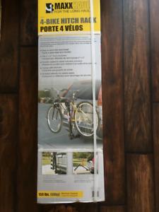 Maxx Haul 4-Bike Hitch Rack