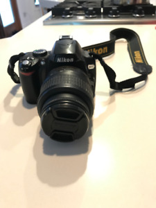 Nikon D60 DSLR Camera with 18-55mm f/3.5-5.6G Auto Focus-S (MTL)