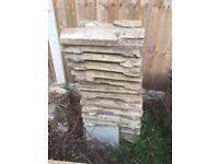 Free garden/patio slabs