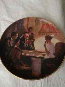ROCKWELL'S LIGHT CAMPAIGN - SET 6 COLLECTOR PLATES NEW PRICE