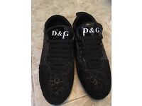 D&G casual men's shoes size 8
