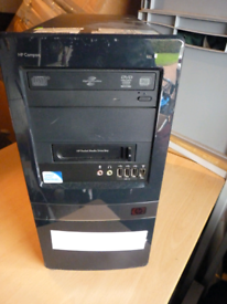HP DX7500 Complete with HP Pocket Media Drive Bay(excludes hard drive)