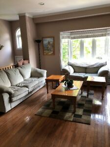 LIVING ROOM AND DINING SET- GREAT CONDITION!
