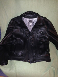 Screaming Eagle Leather Jacket (vented)