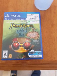 Ps4 VR Game Psychonauts
