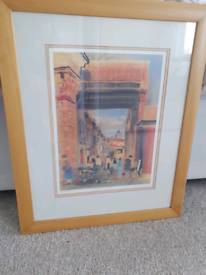 Armstrong 'Paddy's Market Limited Editon Framed Print