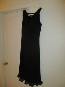 Black Dress Size 16 made in USA