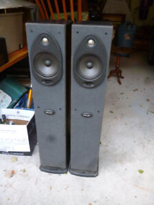 Polk Powered Tower Speakers / Project