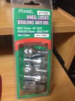 Volkswagen NEW wheel locks