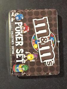 Poker Chip Set - Mint Condition M&M Collectible
