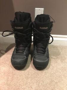 Men's K2 snow board boots size 9