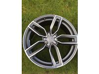 """NEW 19"""" AUDI S3 STYLE ALLOYS WHEELS A3 A4 A5 A6 A7 A8 S4 S5 S6 S7 S8 RS3 RS4 RS5 RS6 RS7 GMF"""
