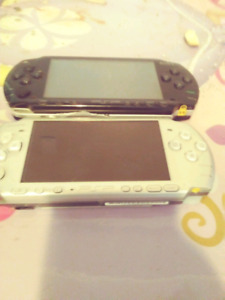 Psp for parts.  Silver one sold.