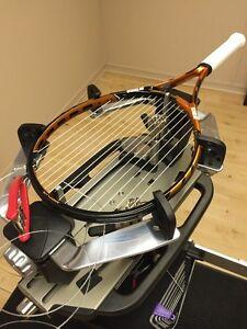 Racquet Stringing! Service de Cordage de raquettes!