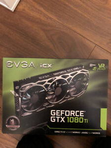 BNIB BRAND NEW SEALED NVIDIA EVGA GeForce GTX 1080 Ti FTW3