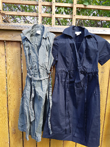 Two Maternity Summer Dresses-Motherhood Maternity