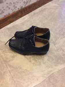 Size 11 dress black shoes for boys London Ontario image 1