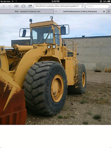 1980 988B Caterpillar  Wheeled Loader For Sale