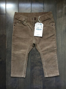Zara Baby Corduroy Pants - 9-12 months - Boys/Girls - BRAND NEW!