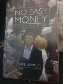 No easy money. A gamblers diary by Dave Nevison