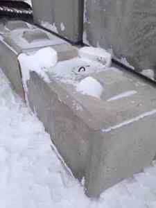 Concrete Lego Stacking Blocks for Retaining Walls