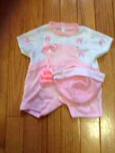 Brand new Baby Doll outfits fits doll 18-20 inches