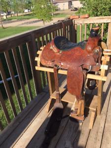 Custom Roping Saddle