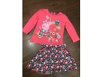 Peppa Pig clothes 6-9 months