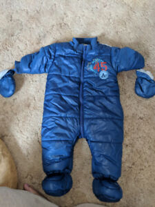 Snow suit for 6 to 12 month boy
