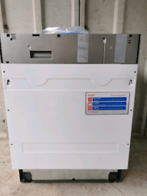 Sharp QW -D21I492X Full Size Integrated Dishwasher RRP £269
