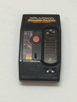 Mattel Battlestar Galactica Space Alert handheld game 1970's works