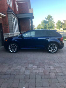 2011 Ford Edge Sport with DVD monitors and brand new tires