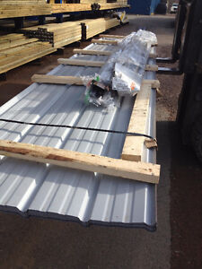 New Steel Roofing for 24x30 Garage