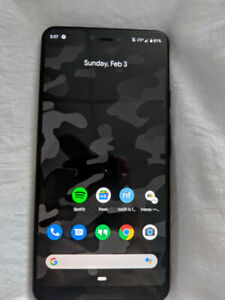 Perfect condition Pixel 3XL + clear otterbox
